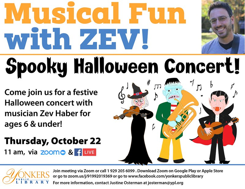 Spooky Halloween Concert with Zev! image