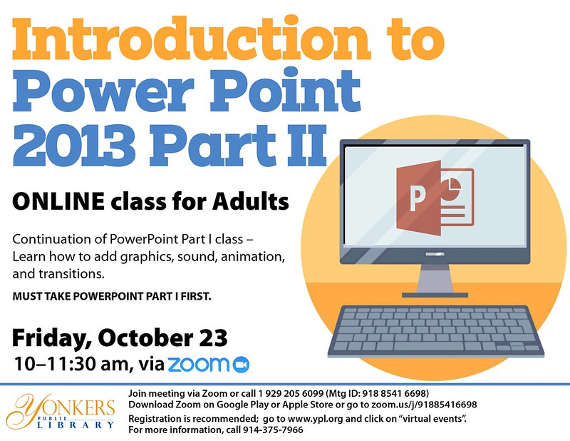 Introduction to PowerPoint 2013 Part II  image