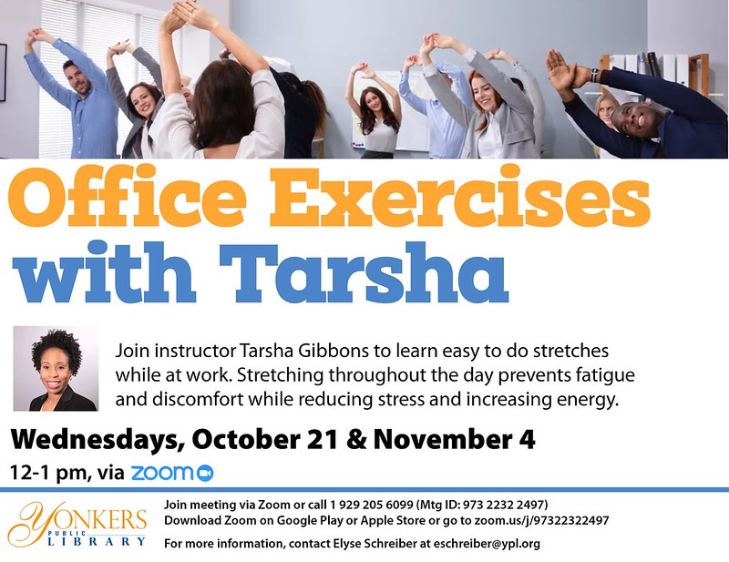 Office Exercises with Tarsha image