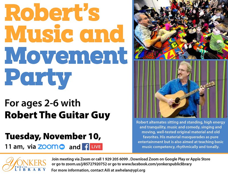 Robert the Guitar Guy: Music & Movement Party! image