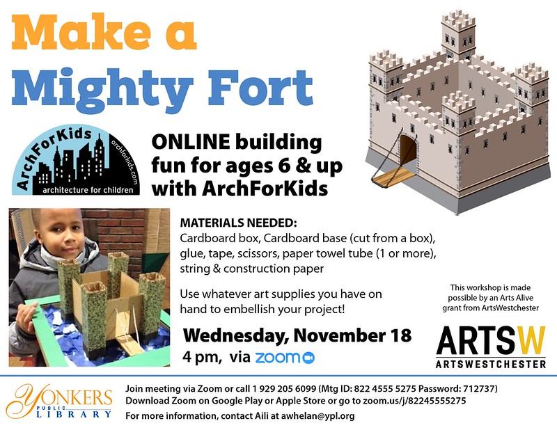 Arch For Kids Presents: Build a Fort image