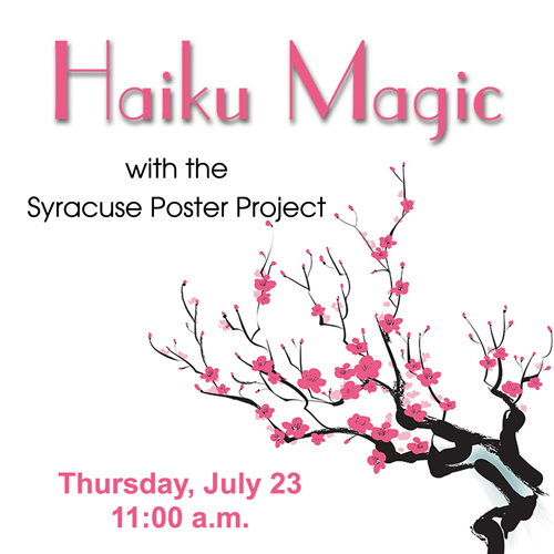 Haiku Magic with the Syracuse Poetry Project  image