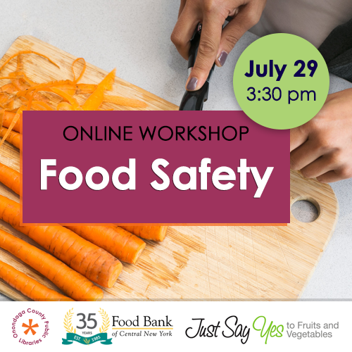 Online Workshop: Food Safety  image