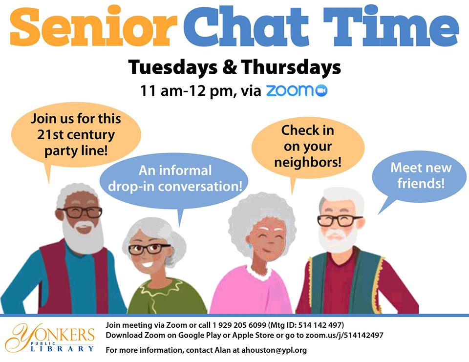 Senior Chat Time image